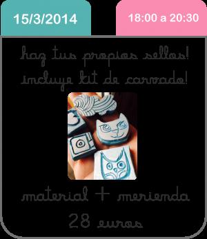 taller-carvado-de-sellos-marzo-scrapbooking-manualidades-cute-and-crafts-santa-coloma-de-gramenet