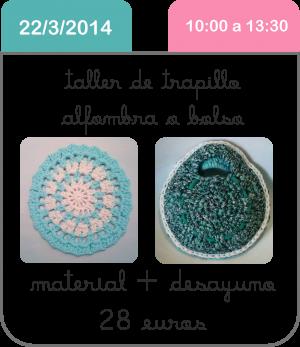 taller-trapillo-alfombra-arcoiris-scrapbooking-manualidades-cute-and-crafts-santa-coloma-de-gramenet