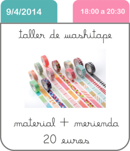 taller-washitape-cute-and-crafts-santa-coloma-de-gramenet-scrapbooking-barcelona-manualidades