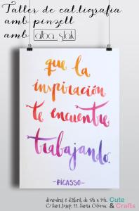 Taller-Caligrafia-Alba-Slak-Abril-CuteCrafts