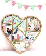 marco de fotos corazon miss creatica