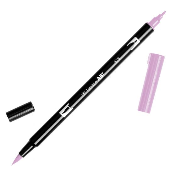 Rotulador ABT Dual Brush 673 Orchid Tombow