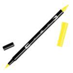 Rotulador ABT Dual Brush 055 Process Yellow Tombow