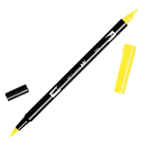 Rotulador ABT Dual Brush 055 Process Yellow Tombow