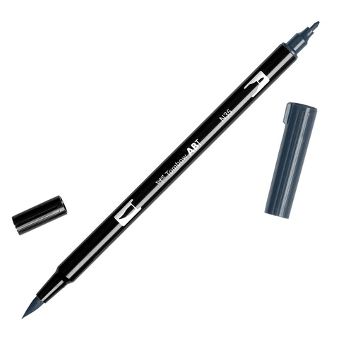 Rotulador ABT Dual Brush N35 Cool Gray 12 Tombow
