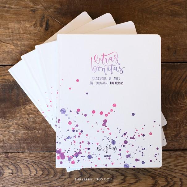 libro letras bonitas three feelings