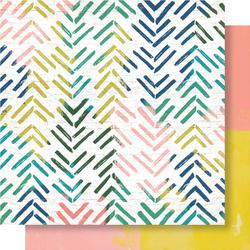 Papel 30x30 Wild Heart Crate paper -Electric