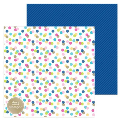 Papel scrapbooking 30x30 Hello - Garden Party Doodlebug Design
