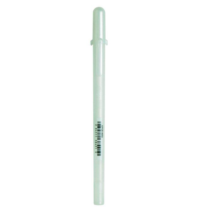 bolígrafo glaze blanco gelly roll