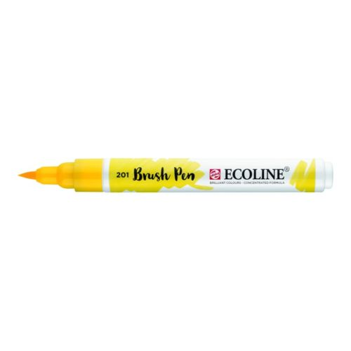 Rotulador Ecoline Brush Pen Amarillo Claro