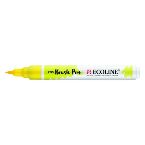 Rotulador Ecoline Brush Pen Amarillo Limón
