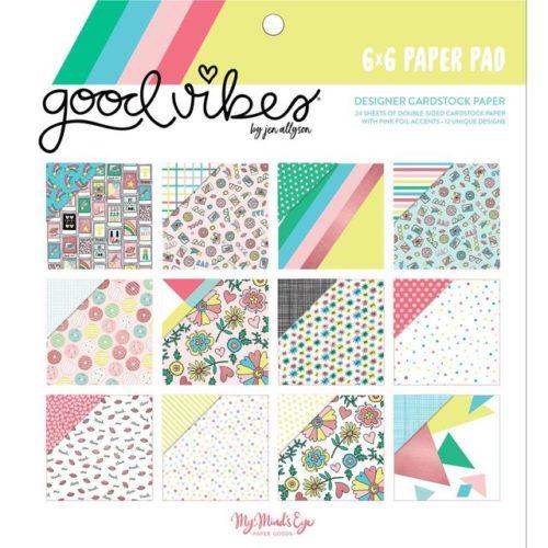 Bloc de papeles Good Vibes