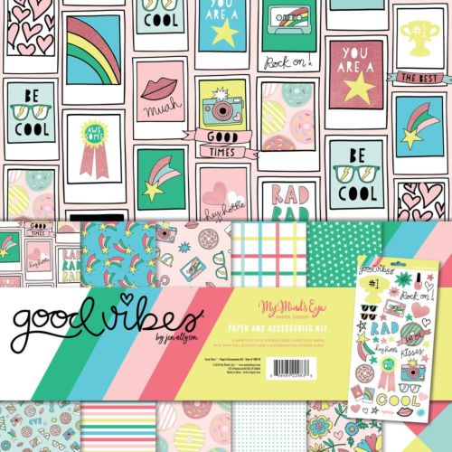 Kit De Scrapbooking Good Vibes de My Mind's Eye