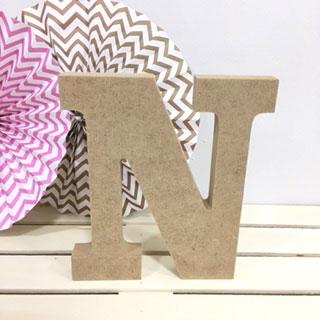 letra-n-madera-dm-para-decorar-cute-and-crafts-santa-coloma-de-gramenet-barcelona-scrapbooking-manualidades