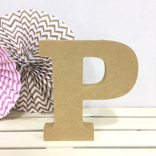 letra-p-madera-dm-para-decorar-cute-and-crafts-santa-coloma-de-gramenet-barcelona-scrapbooking-manualidades