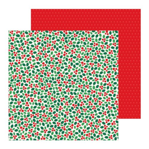 Papel para scrapbooking 30x30 Holly Jolly Cozy & Bright