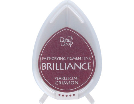 tinta brilliance pearlescent crimson