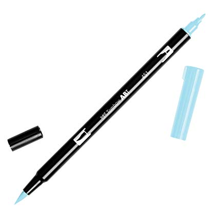 Rotulador ABT Dual Brush 451 Sky Blue Tombow