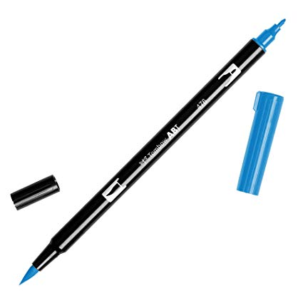 Rotulador ABT Dual Brush 476 Cyan Tombow