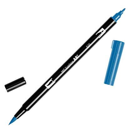 Rotulador ABT Dual Brush 535 Cobalt Blue Tombow