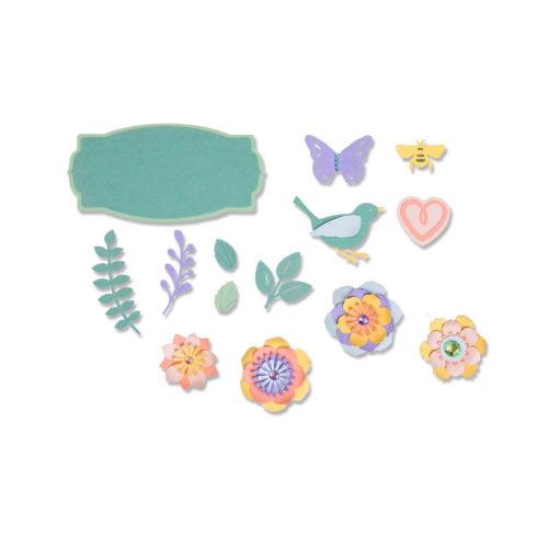 Set 20 troqueles THINLITS Spring things by Lynda Kanase