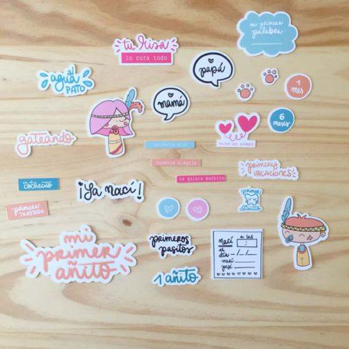 Die Cuts Primer añito Iriri Studio Scrapbooking