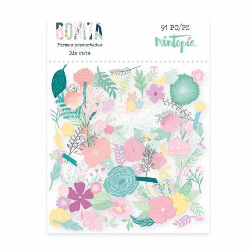 Die Cuts flores - Colección Bonita de Mintopia