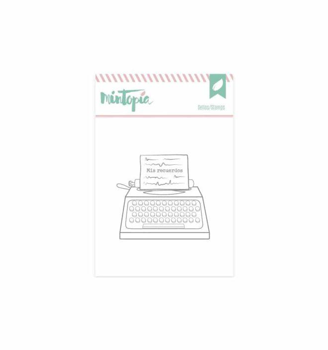 Sello máquina de escribir - Colección Bonita de Mintopia