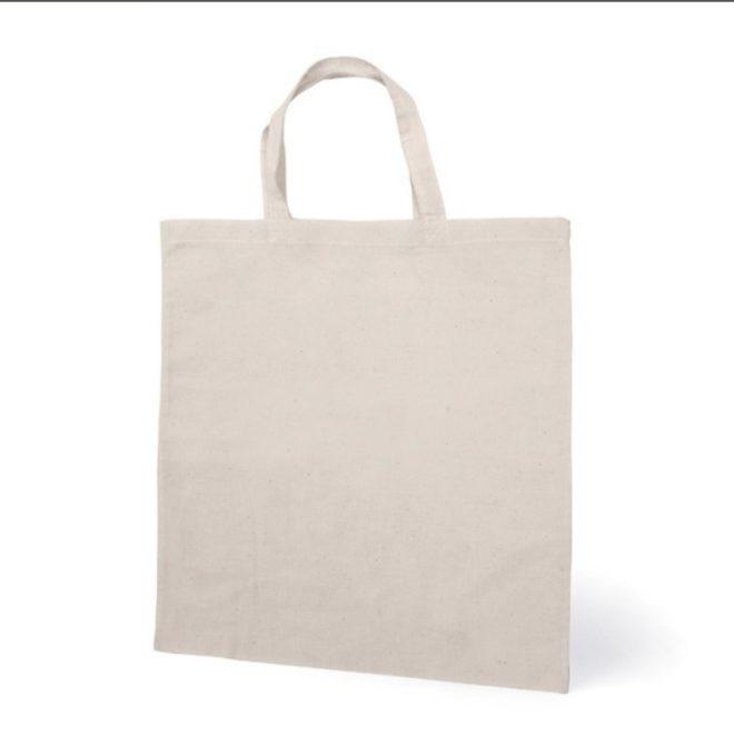 Estás buscando una bolsa de tela para dejar de utilizar bolsas de plástico cuando vayas a la compra?? Esta bolsa es ideal para personalizarla con infinidad de técnicas. 100% algodón, podrás pintarla, hacer transferencia de imagen, aplicar sellos, etc.